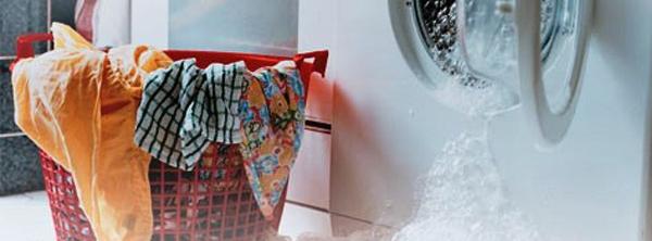 тече пралка