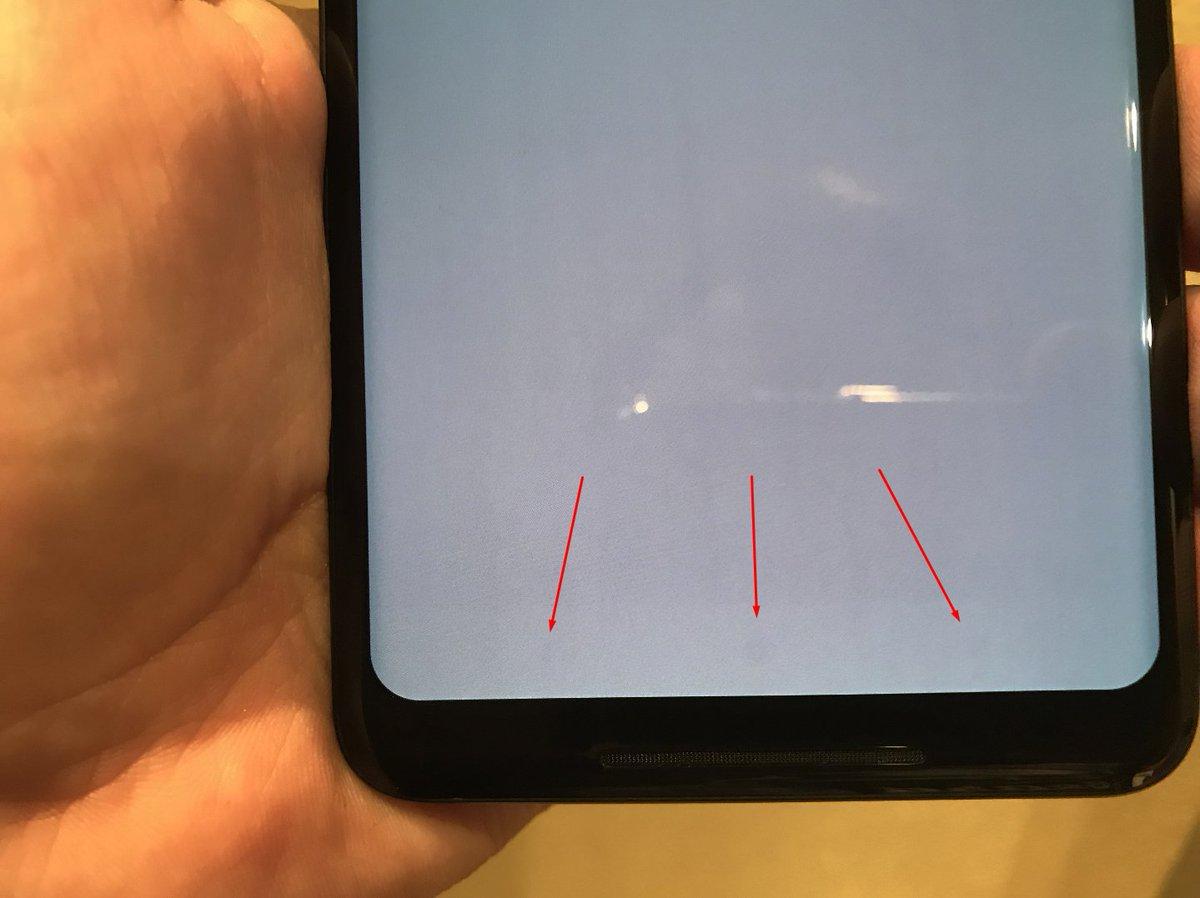Вигорання екранів oled 3